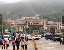 Chợ biên giới lớn nhất xứ Nghệ tạm dừng hoạt động