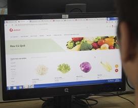 COVID-19 có diễn biến mới: Đi chợ online thay vì tích trữ lương thực