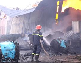 5.000 m2 nhà xưởng công ty giấy cháy rụi