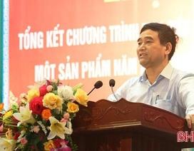 Phó Chủ tịch huyện bị kỷ luật được chuyển công tác Sở Kế hoạch - Đầu tư