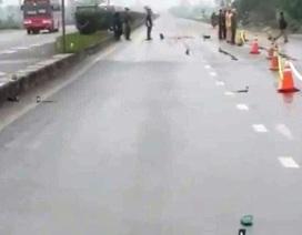Tạm giữ khẩn cấp nghi can gây tai nạn chết người rồi bỏ trốn