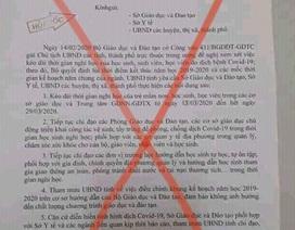 Giả mạo văn bản của UBND tỉnh Quảng Trị cho học sinh nghỉ học hết ngày 29/3