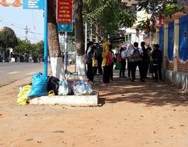 Đắk Lắk: Rác bủa vây trung tâm huyện, người dân bức xúc lên tiếng