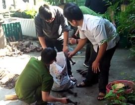 Số kỷ vật chiến tranh công an Hà Giang thu giữ không phải vũ khí quân dụng
