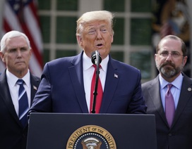 Ông Trump ban bố tình trạng khẩn cấp quốc gia vì Covid-19