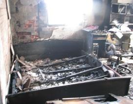 Cháy nhà, một cụ ông tử vong