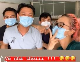 Quỳnh Anh Shyn vui mừng thông báo được về nhà sau khi cách ly 3 ngày