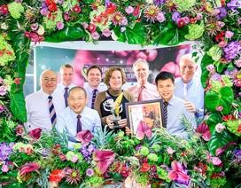 Hasfarm đạt Giải thưởng Nhà sản xuất hoa cắt cành số một thế giới 2020