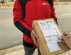 """Giao hàng thời Corona: J&T Express gắn """"Thẻ Bưu kiện an tâm"""" trên từng bưu phẩm"""