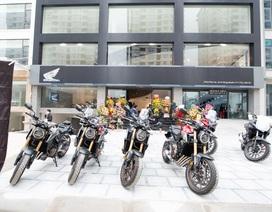 Ra mắt showroom xe Honda phân khối lớn đầu tiên tại miền Bắc
