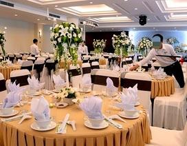 Khách sạn, nhà hàng tạm dừng tổ chức tiệc cưới đông người