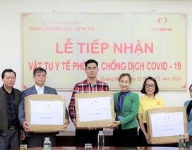Quỹ thiện tâm (Vingroup) trao tặng 140.000 chiếc khẩu trang cho người dân 7 tỉnh biên giới