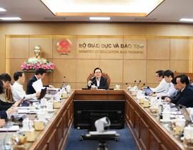Bộ trưởng: Không giảm nhẹ chất lượng, thẩm định nội dung khi học trực tuyến