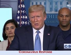 Ông Trump đánh giá Mỹ chống dịch Covid-19 đạt 10/10 điểm