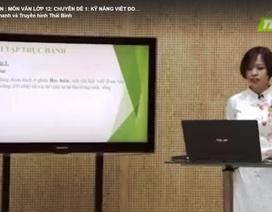Thái Bình: Triển khai dạy học trên truyền hình cho học sinh lớp 9, 12