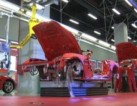 Ferrari dừng toàn bộ sản xuất do dịch Covid-19