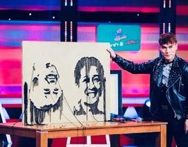 """Độc đáo chàng trai trẻ """"vẽ"""" tranh bằng xích, ốc vít"""