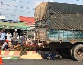 Va chạm với xe tải, 2 người tử vong