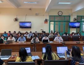 Sinh viên trường ĐH Khoa học - ĐH Thái Nguyên học trực tuyến tại nhà