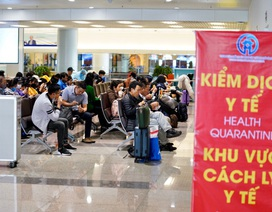 Dừng lấy mẫu xét nghiệm Covid-19 tại sân bay Nội Bài để giảm ách tắc