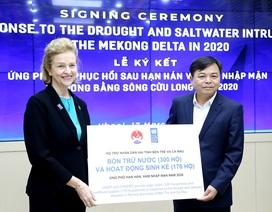 UNDP hỗ trợ khẩn cấp 185.000 USD cho ĐBSCL chống hạn, mặn