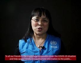 """""""Thấu ân tình"""" lời cảm ơn WHO gửi đến lực lượng chống Covid-19 của Việt Nam"""