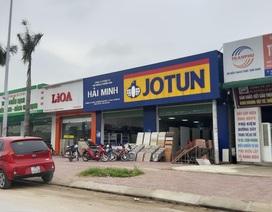 Nghệ An: Công ty vận tải xây hàng loạt ki-ốt không phép cho thuê