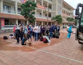 Nghệ An tiếp nhận cách ly gần 200 người từ Lào về quê