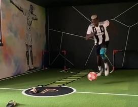 Pogba khiến cổ động viên Man Utd nổi giận vì mặc áo Juventus tập luyện