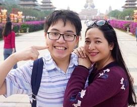 MC Quỳnh Hương đồng ý khi cho con trai quyết định ở lại Anh