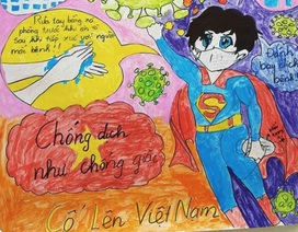 """Lan tỏa cuộc thi vẽ tranh """"phòng, chống dịch bệnh Covid-19"""""""