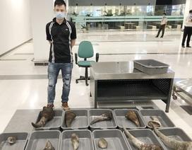 Khởi tố thanh niên vận chuyển gần 29kg sừng tê giác từ Hàn Quốc về Cần Thơ