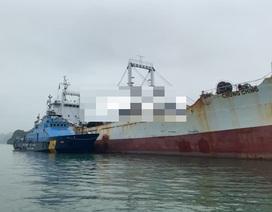 Bắt tàu chứa 4,2 triệu bao thuốc lá nhập lậu vào Việt Nam trên Vịnh Bắc Bộ