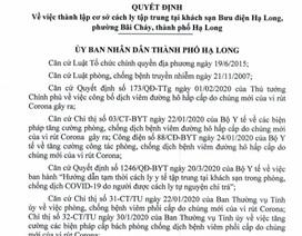 Quảng Ninh thành lập cơ sở cách ly tập trung tự nguyện chi trả
