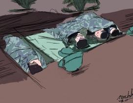 """Nữ sinh Quảng Nam vẽ tranh cảm ơn những """"người hùng"""" chống dịch Covid-19"""