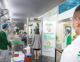 Bệnh viện Thu Cúc tổ chức phân luồng người đến khám chữa bệnh theo đúng quy định của Bộ Y Tế