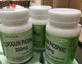 Bộ Y tế: Không chỉ định điều trị Covid-19 bằng thuốc chữa sốt rét