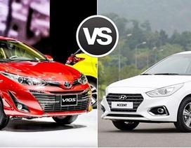 """Xe sedan dưới 700 triệu đồng: Vios và Accent """"đụng"""" nhiều đối thủ xứng tầm"""