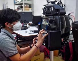 Thái Lan dùng robot để khám chữa cho bệnh nhân Covid-19