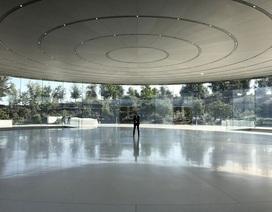 Trụ sở Apple như một công viên bị bỏ hoang do đại dịch Covid-19