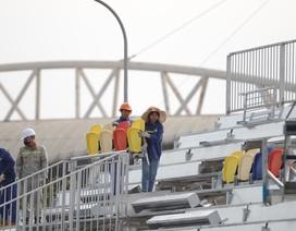 Hà Nội: Tháo dỡ khán đài đường đua F1 vì tạm hoãn đua xe