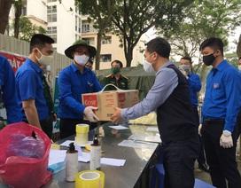 Thanh niên Hà Nội tích cực hỗ trợ khu cách ly, lắp 100 bồn rửa tay miễn phí