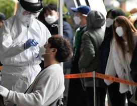 Số ca mắc Covid-19 tại Hàn Quốc vượt 9.000