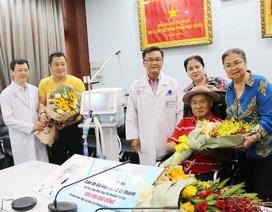Gia đình nghệ sĩ Lý Huỳnh tặng máy thở cho bệnh viện chống Covid