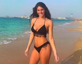 Hoa hậu Newcastle bốc lửa đi tập thể dục