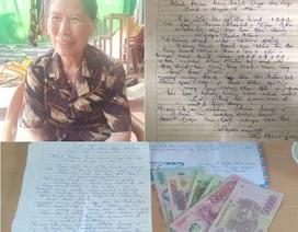 Cụ bà 78 tuổi đạp xe lên xã xin ủng hộ 1 triệu đồng chống dịch Covid