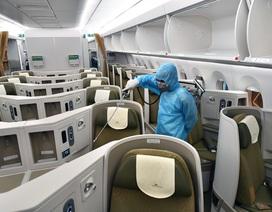 Hãng hàng không duy nhất khử trùng toàn bộ máy bay khai thác trong ngày