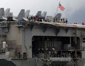 3 thủy thủ tàu sân bay Theodore Roosevelt của Mỹ mắc Covid-19