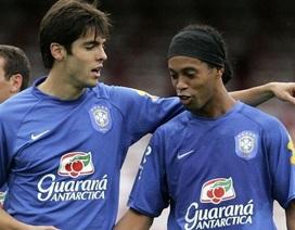 Kaka nói gì sau khi Ronaldinho phải đi tù?