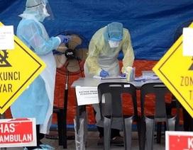 Malaysia có 235 ca mắc mới, 7 nhân viên cung điện hoàng gia nhiễm virus